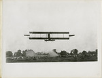Benoist Type XII Airplane Flying at the Shelby County, Ohio Fairgrounds, circa 1912
