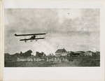 Somerville's Biplane in Flight at Coal City, Illinois, circa 1912