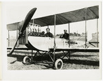 Edward and Milton Korn in a Benoist Type XII Airplane, circa 1912