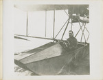 Edward Korn in a General Aeroplane Company Verville Flying Boat, circa 1916