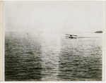 General Aeroplane Company Verville Flying Boat on Open Water, circa 1916