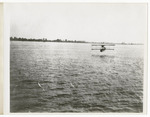 General Aeroplane Company Verville Flying Boat Flying Over Open Water, circa 1916 by Edward A. Korn