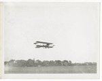 Benoist Type XII Airplane in Flight, circa 1912