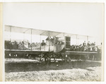 Edward Korn in a Benoist Type XII Airplane, circa 1912