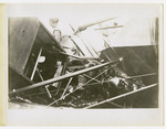 Close Up of the Wreck of Edward Korn's Benoist Type XII Airplane in Shelby County, Ohio on August 13, 1913