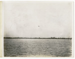 General Aeroplane Company Verville Flying Boat in Flight Over Water, circa 1916