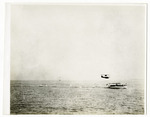 General Aeroplane Verville Flying Boat Moving Across Open Water, circa 1917