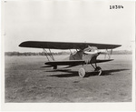 Boeing (X)PW-9, 1/4 right hand side view