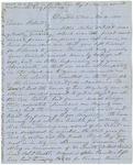 Letter from Jefferson Patterson to his son Robert dated November 8, 1861