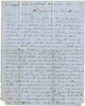 Letter from Jefferson Patterson to his son Robert dated December 25, 1861