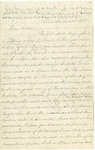Letter from Robert Patterson to his father Jefferson on December 15, 1861