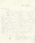 Letter from William Patterson to his mother Julia on February 16, 1862