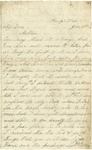 Letter from William Patterson to his mother Julia dated January 30, 1862
