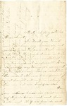 Letter written to Julia Patterson from her niece, Lilly, on July 20, 1862