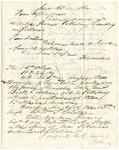Letter to Jefferson Patterson from an unknown sender in 1862