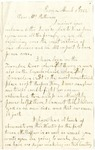 Letter written from L.K. Shaffner to Julia Patterson on March 1, 1862
