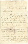 Letter from Stephen Patterson to his mother Julia on June 16, 1862