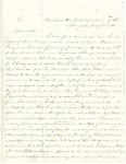 Letter from Robert Patterson to Colonel J. F. Harrison on August 7, 1862