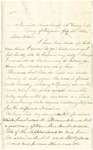 Letter from Robert Patterson to his father Jefferson Patterson on July 24, 1862