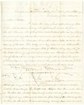 Letter from Robert Patterson to his mother Julia on November 8, 1863