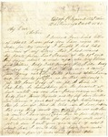 Letter from William Patterson to his mother Julia on December 6, 1863 by William Patterson