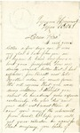 Letter from John H. Patterson to a brother, dated March 11, 1863