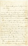 Letter from Robert Patterson to his father Jefferson Patterson on July 16, 1862