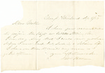 Letter from Robert Patterson to his mother Julia dated September 8, 1863 by Robert Patterson