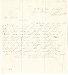 Letter from William Patterson to his mother Julia dated June 22, 1863 by William Patterson