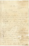 Letter from William Patterson to his mother Julia dated September 21, 1863 by William Patterson
