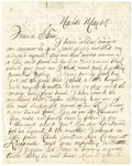 Letter from J.D. Sharp to Stephen Patterson, dated May 1, 1863