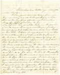 Letter from Robert Patterson to his mother Julia dated December 17, 1863