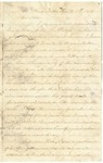 Letter from Rachel Reynolds to William Patterson dated April 5, 1863