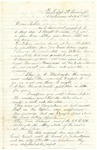 Letter from John Patterson to his mother Julia on July 5, 1864