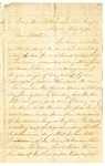 Letter from Robert Patterson to his mother Julia dated July 10, 1864