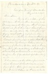 Letter from Robert Patterson to his brother Stephen dated August 30, 1864