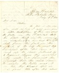 Letter from William Patterson to his mother Julia dated July 5, 1864