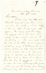Letter to Stephen Patterson from a friend, Harrison, on April 22, 1864 by Harrison