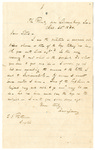 Letter to Stephen Patterson from a friend, Harrison, on April 25, 1864 by Harrison