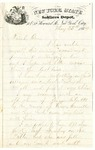 Letter to Stephen Patterson from a friend, Jim, dated May 25, 1864
