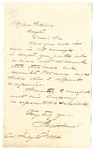 Letter to Stephen Patterson from George Jones from 1864