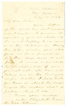 Letter to Julia Patterson from Elizabeth Jones dated July 1, 1864