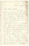 Letter to William Patterson from a friend, Barrett Langdon, dated December 15, 1864