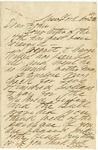 Letter to John Patterson from his uncle William, dated November 25, 1865 by William