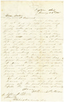 Letter from William Patterson to his brother Stephen, dated January 26, 1865 by William Patterson
