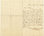 Letter from Robert Patterson to his mother Julia dated March 18, 1864