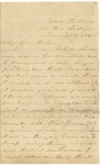 Letter to Julia Patterson from her sister Elizabeth Jones dated June 25, 1865