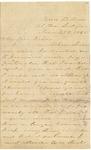 Letter to Julia Patterson from her sister Elizabeth Jones dated June 25, 1865 by Elizabeth Jones