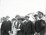 Spectators at the Harvard-Boston Aero Meet, August - September, 1911