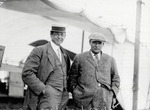 William Hilliard and John Henning at the Harvard-Boston Aero Meet, August - September, 1911